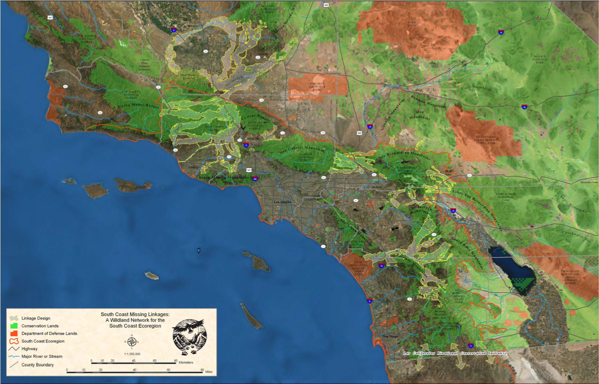 Partners Include South Coast Wildlands National Park Service U S Forest Service California